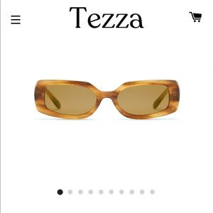 Tezza Jane Maple Tort sunglasses